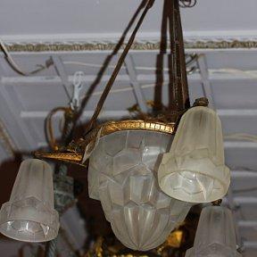 Светильник арт-деко