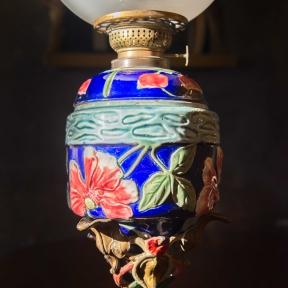 Настольная керосиновая лампа