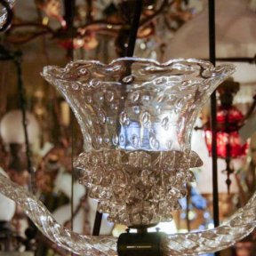 Люстра из муранского стекла