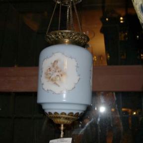 Голубой подвесной светильник