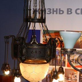 Антикварная люстра начала XX века